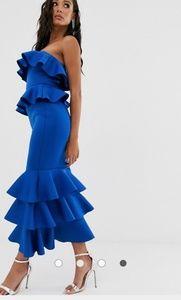 ASOS Dresses - Ruffle maxi dress